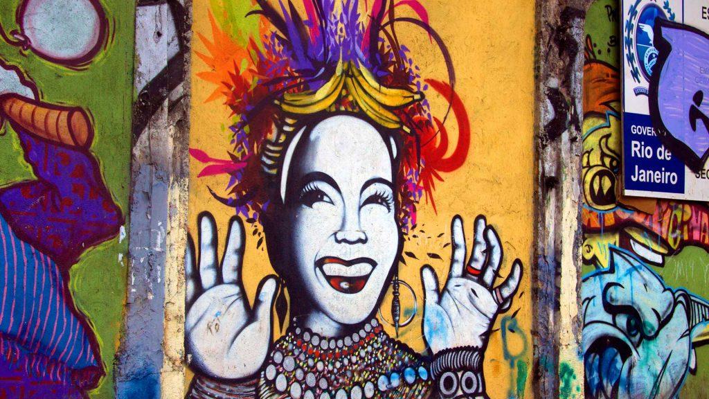 Carmen Miranda Wall