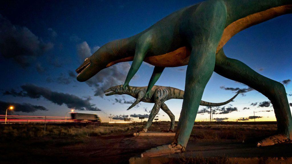 Concrete Dinosaurs