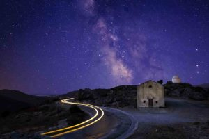 France Milky Way Corsica