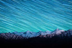 Himalayan Star Trails