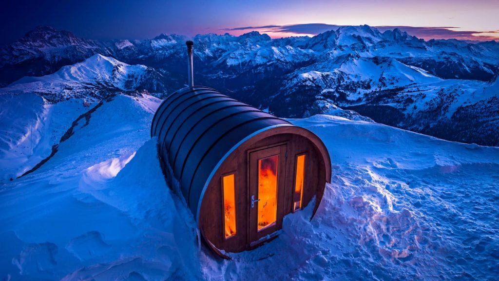 Sauna Dolomites