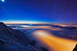 Chamonix Clouds