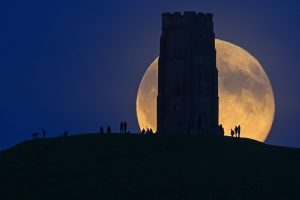 Glastonbury Moon