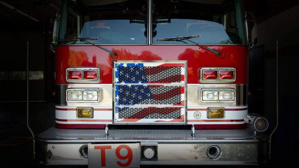 Ladder Truck Flag