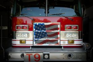 Ladder Truck Flag