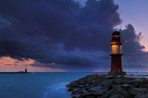 Leuchtturm Warnemuende