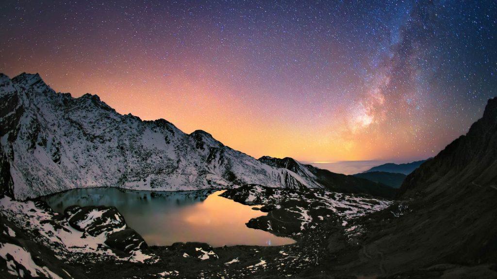 Nepal Milky Way