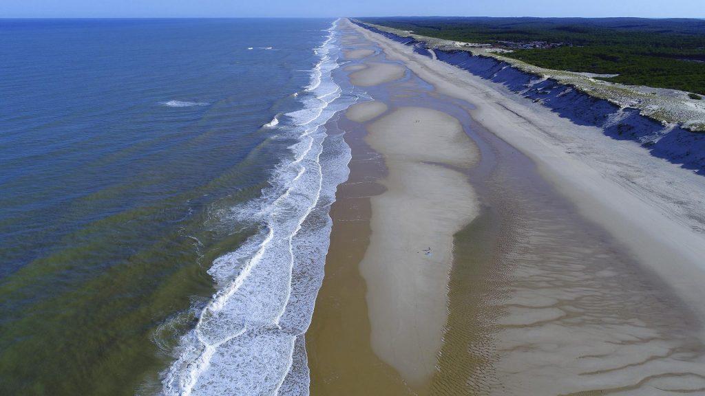 Aerial View Atlantic
