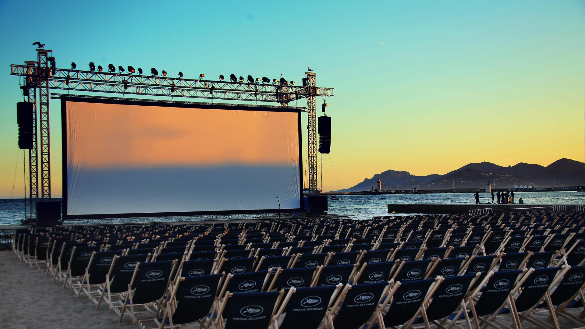 Cannes Festival Screen