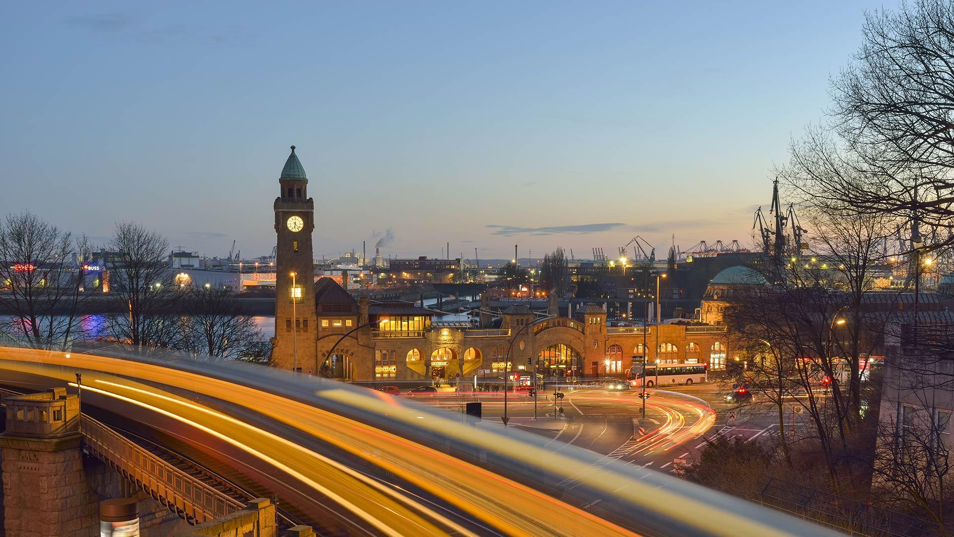 Hamburg Pegelturm