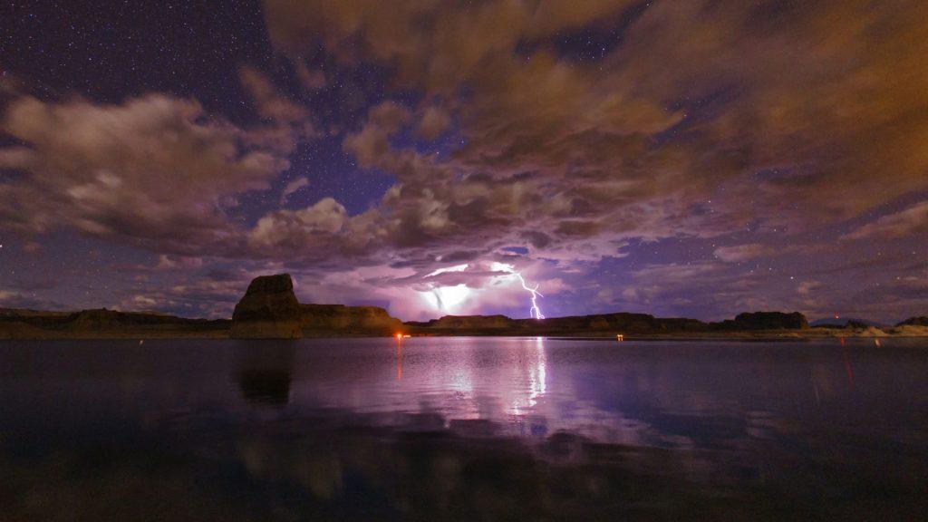 Lake Powell Storm
