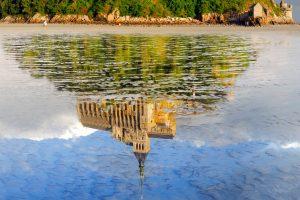Mont St Michel Reflection