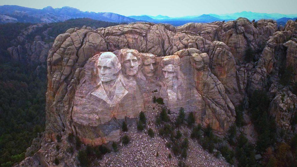 Mt Rushmore Flyover