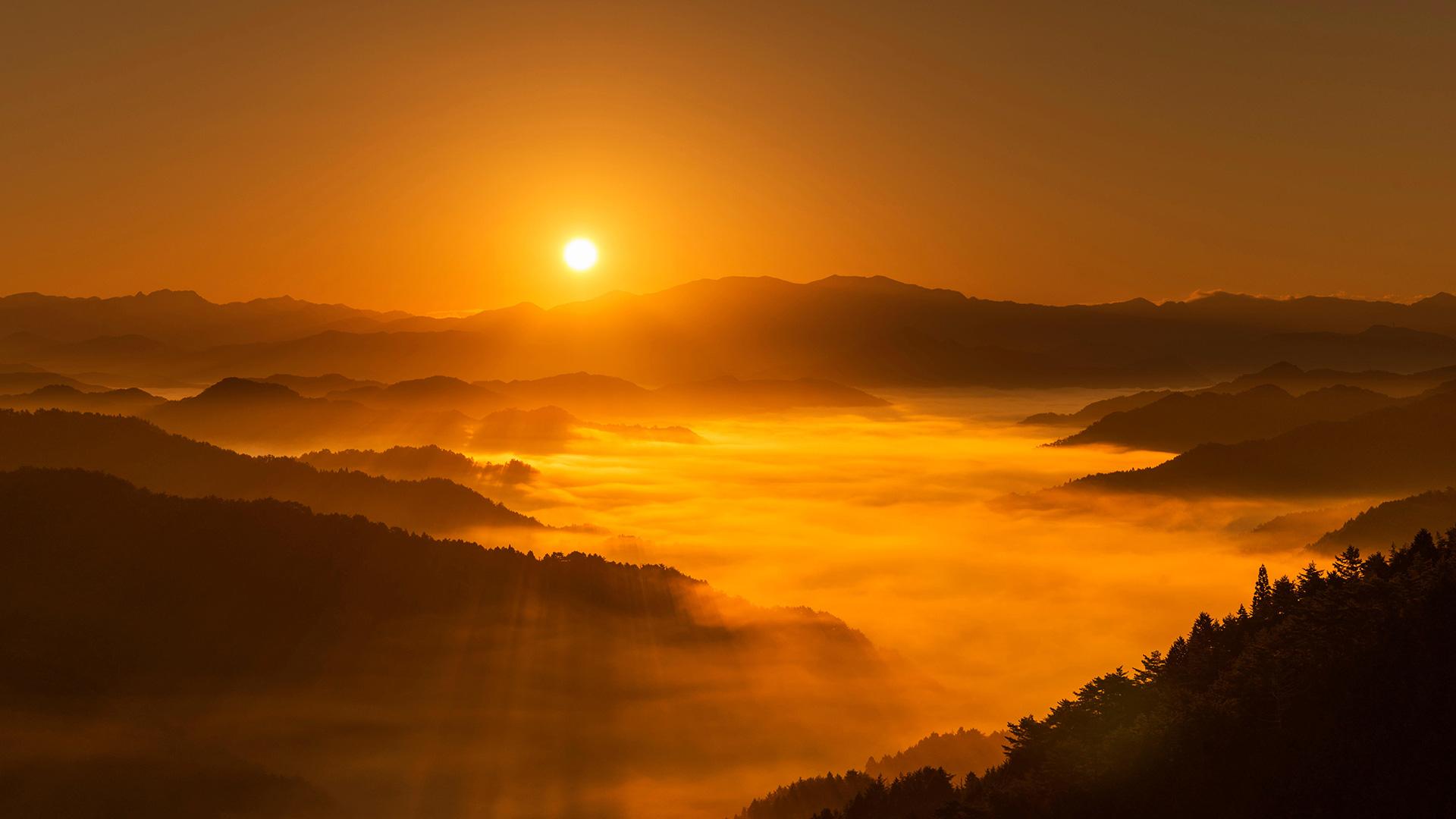 Nara Sunrise0