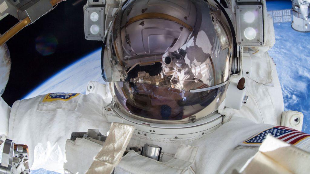 Spacewalk Selfie