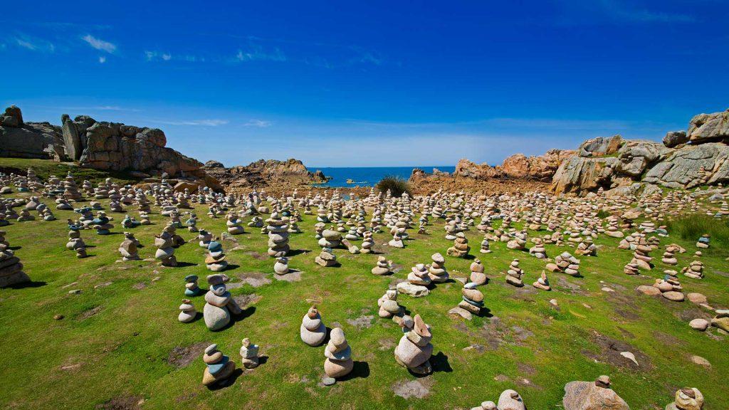 Stones Brehat Beach