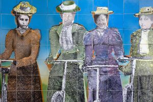 Suffragette Mural NZ