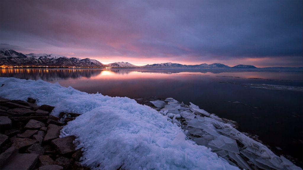 Utah Lake Sunrise