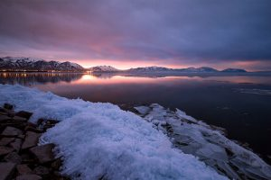 Utah Lake Sunrise
