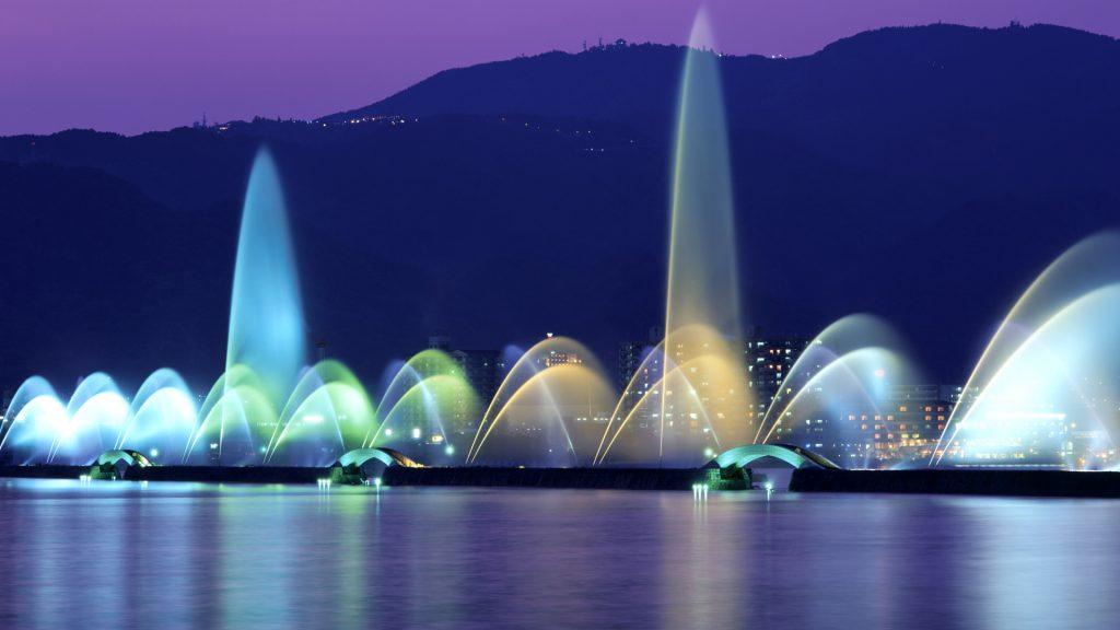 Biwa Fountain