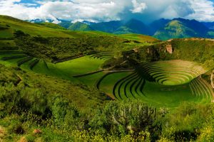 Circular Inca Terraces