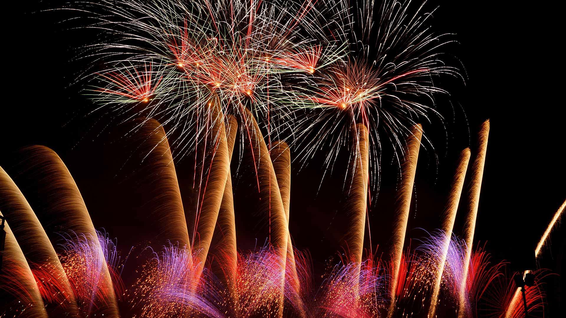 Quebec Fireworks