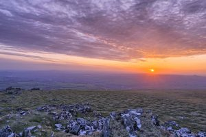 Sunset Dartmoor