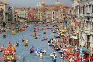 Venetian Rowing