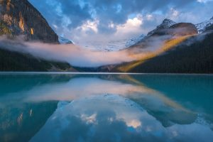 Foggy Lake Louise