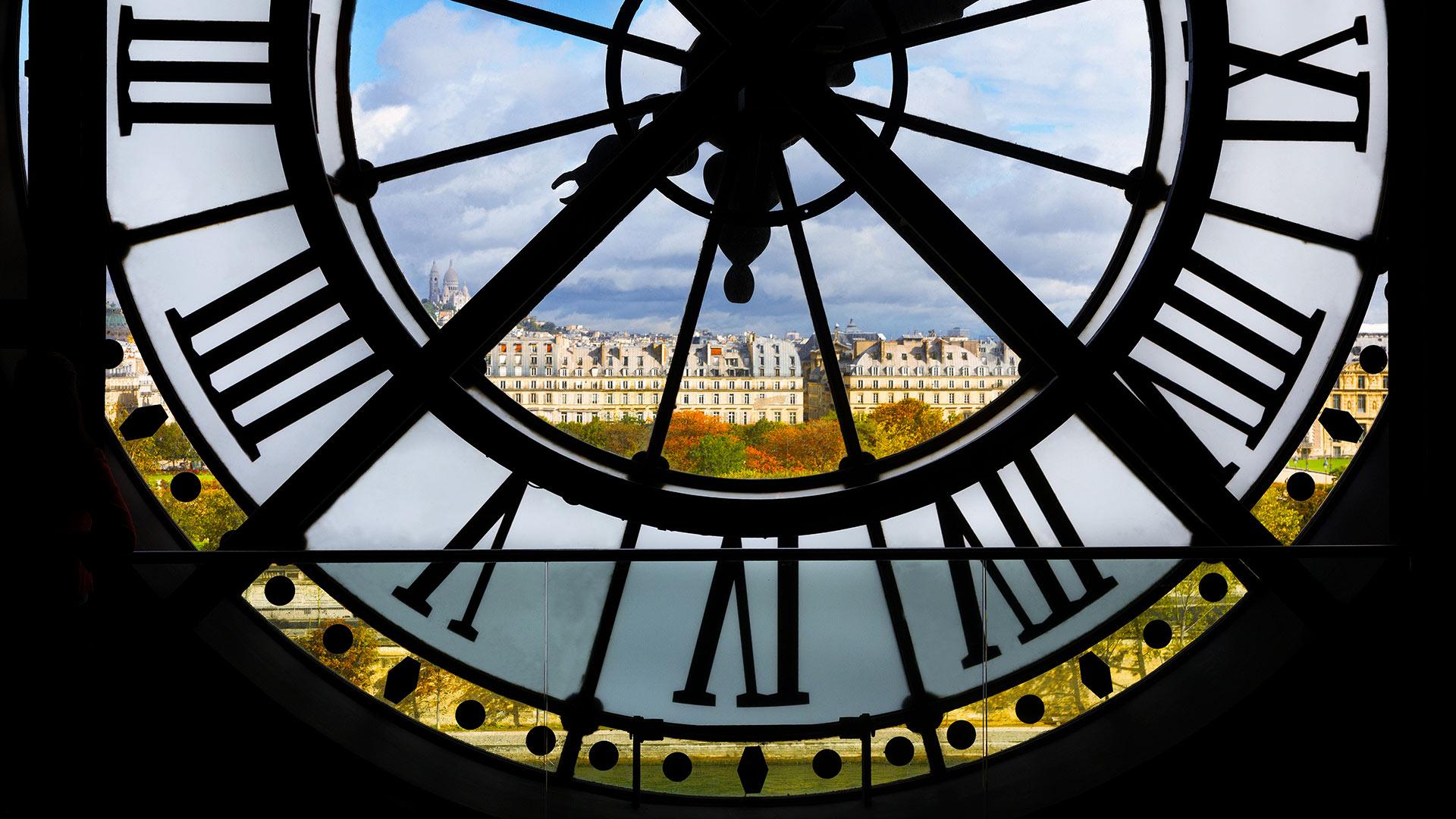Giant Clock Orsay