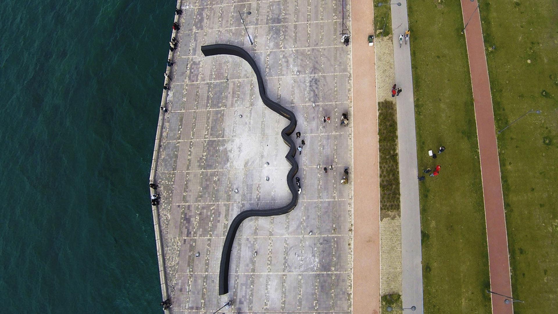 Izmir Face Wall
