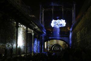 Nuit Blanche Acrobat Paris