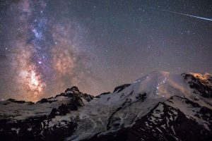 Rainier Milky Way