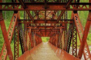 Rusty Footbridge
