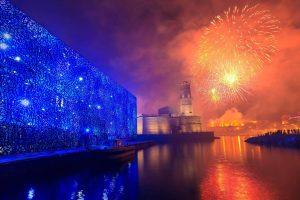 Vieux Port Fireworks