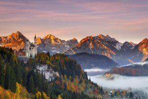 Autumn Neuschwanstein