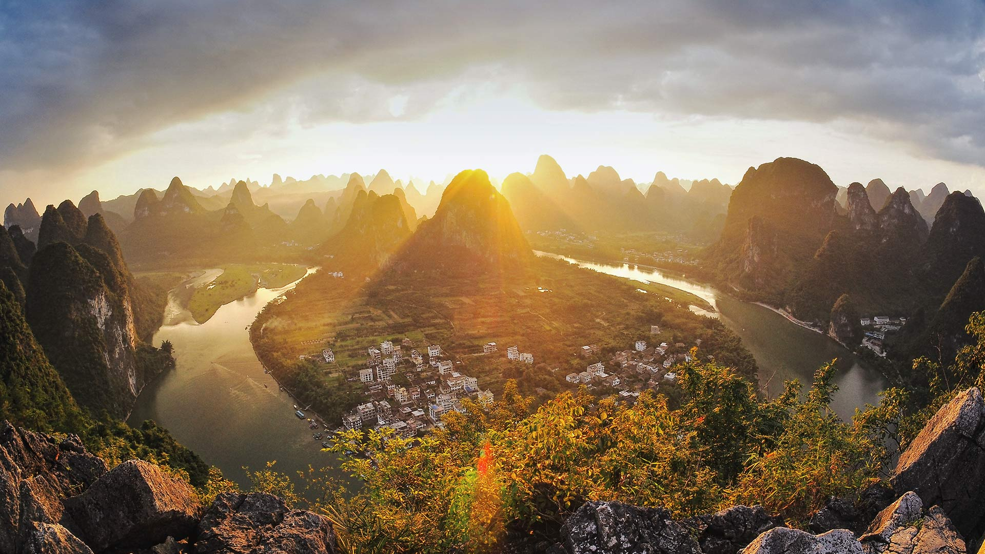 Li River Guilin Video