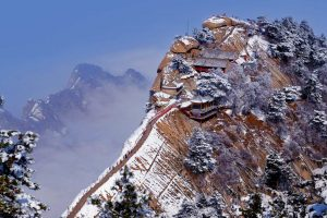 Mount Hua Snow