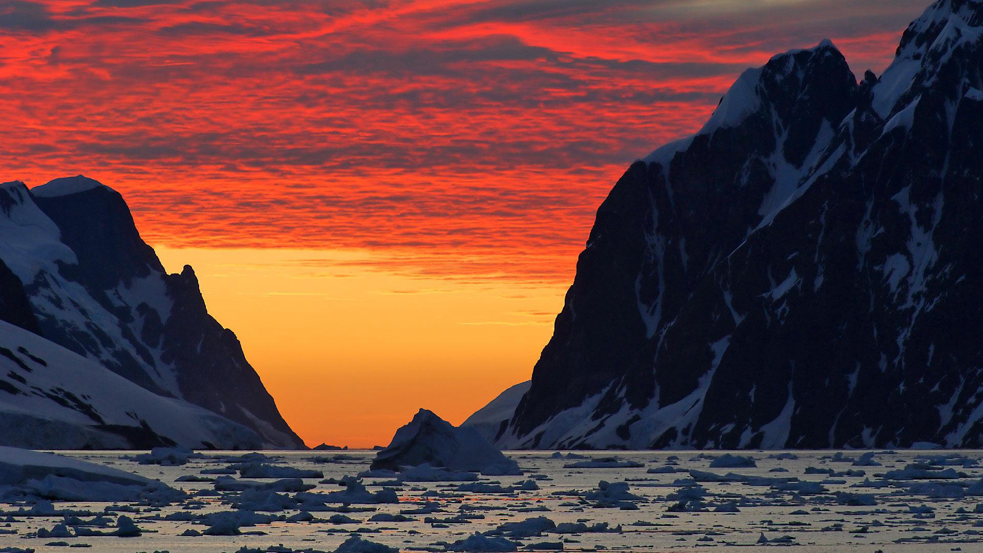 Red Antarctica