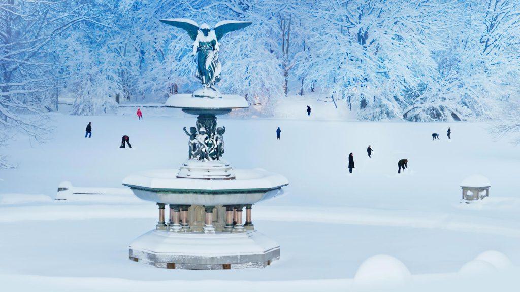 Bethesda Snow