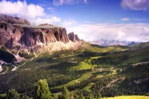 Dolomites Clouds Video