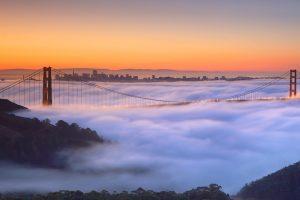 Golden Gate Fog Video