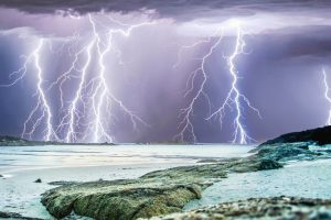 Lightning Near Perth