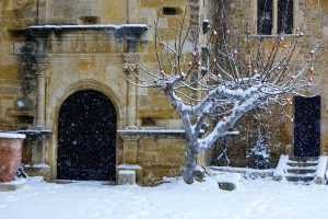 Luberon Castle Snow