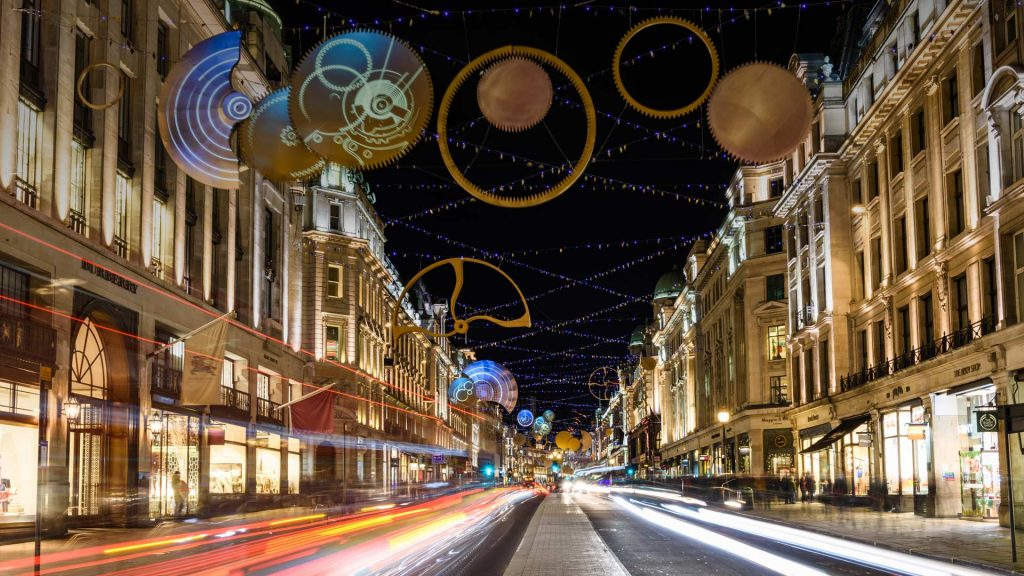 Regent St Lights