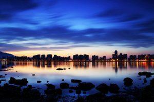 Sunset Shandong