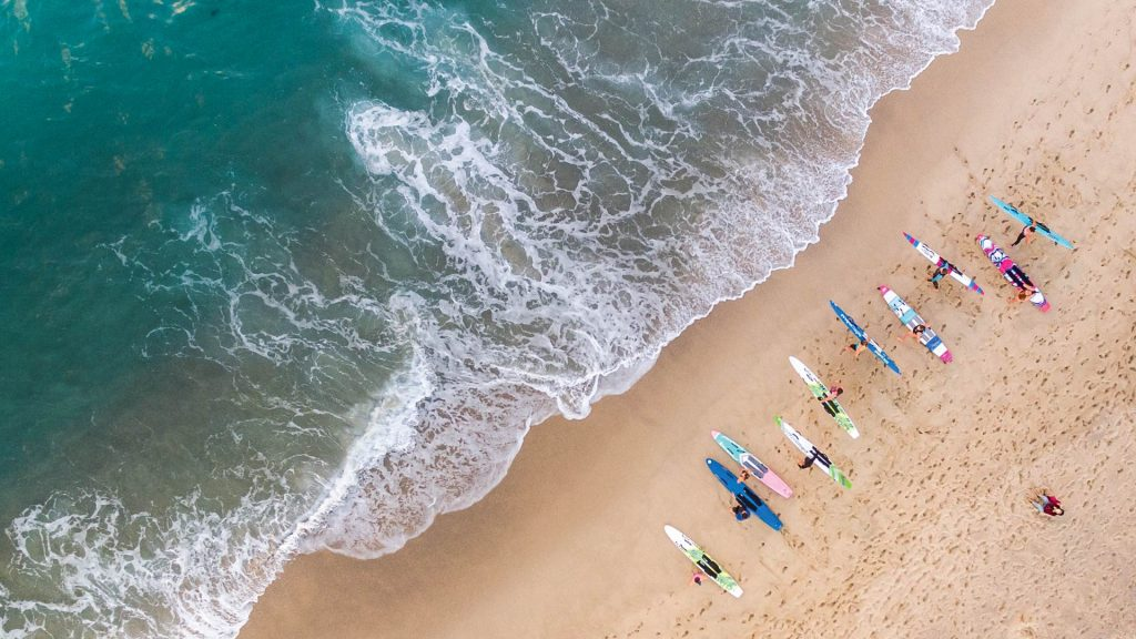 Surfers Bronte Beach