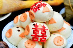Chinese Piggy Buns