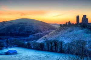 Corfe Sunrise
