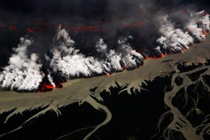 Holuhraun Volcano